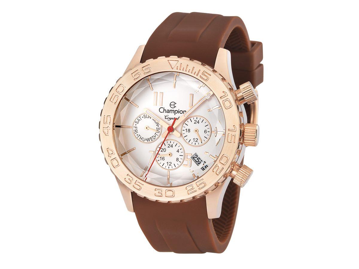 Relógio de Pulso CRYSTAL CH38495R - Champion Relógios