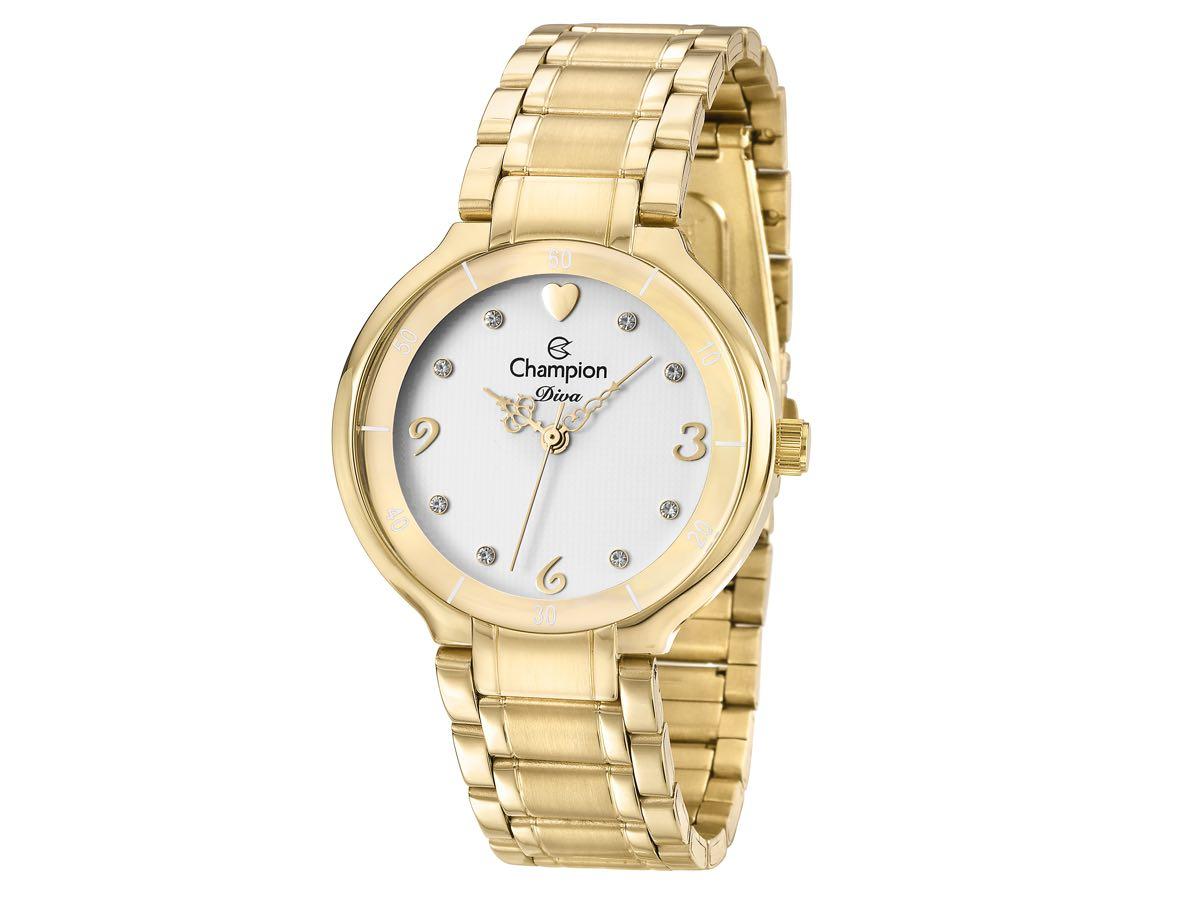 Relógio de Pulso DIVA CN29696H - Champion Relógios
