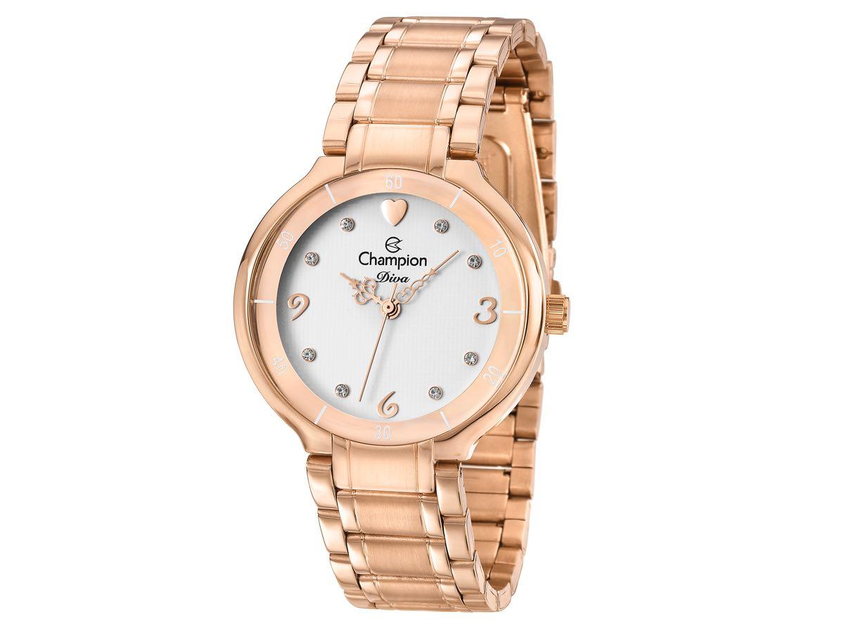 Relógio de Pulso DIVA CN29696Z - Champion Relógios