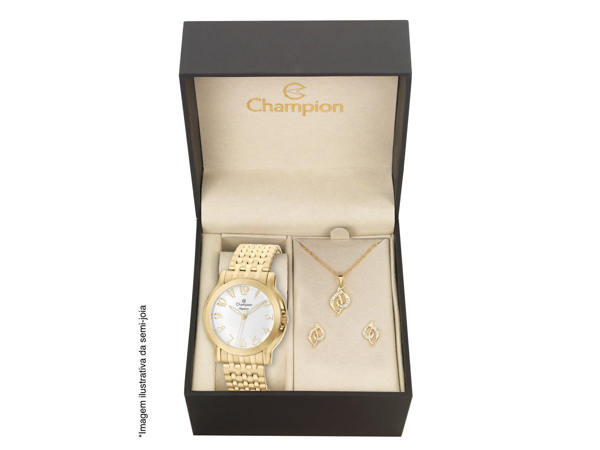 Relógio de Pulso KIT PRESENTES CN26331W - Champion Relógios
