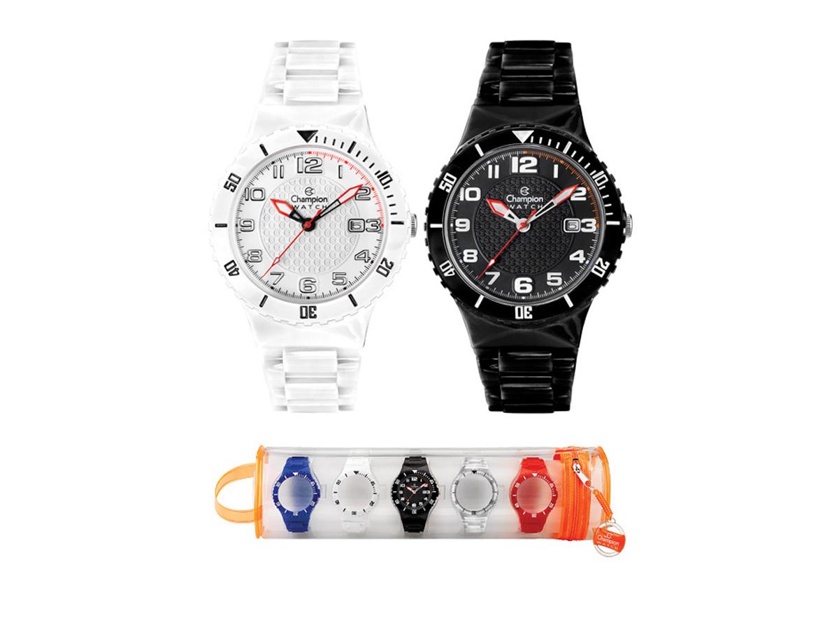 Relógio de Pulso TROCA-PULSEIRAS CP30119X - Champion Relógios