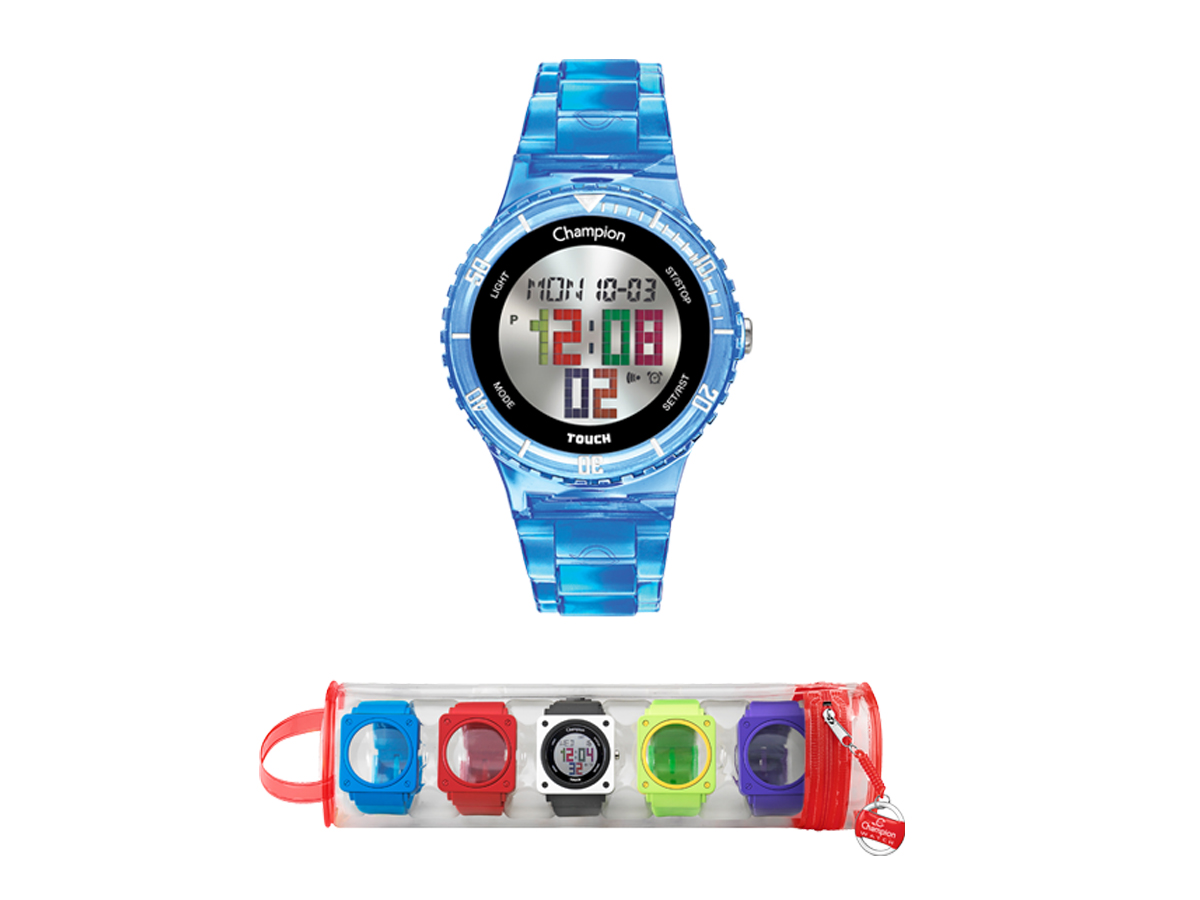 Relógio de Pulso TROCA-PULSEIRAS CP40171X - Champion Relógios