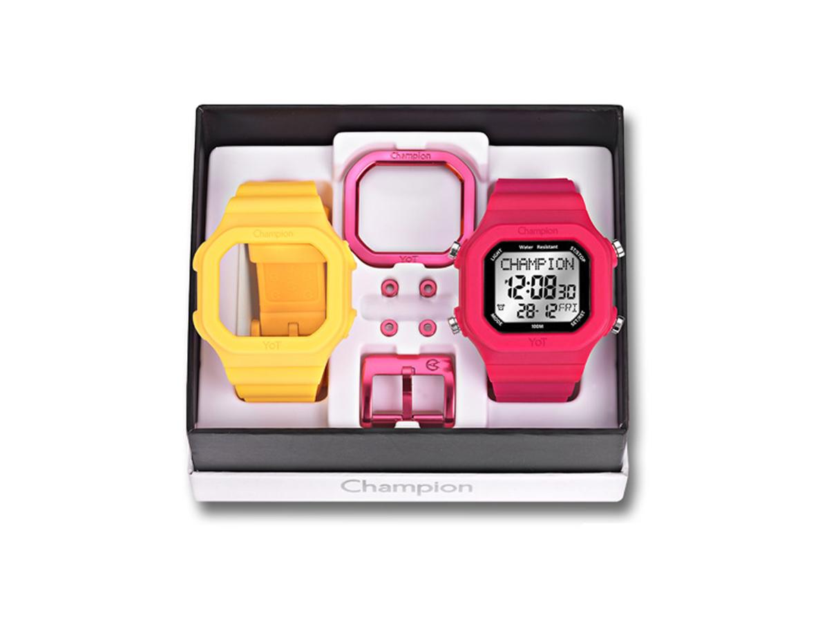 Relógio de Pulso TROCA-PULSEIRAS CP40180X - Champion Relógios