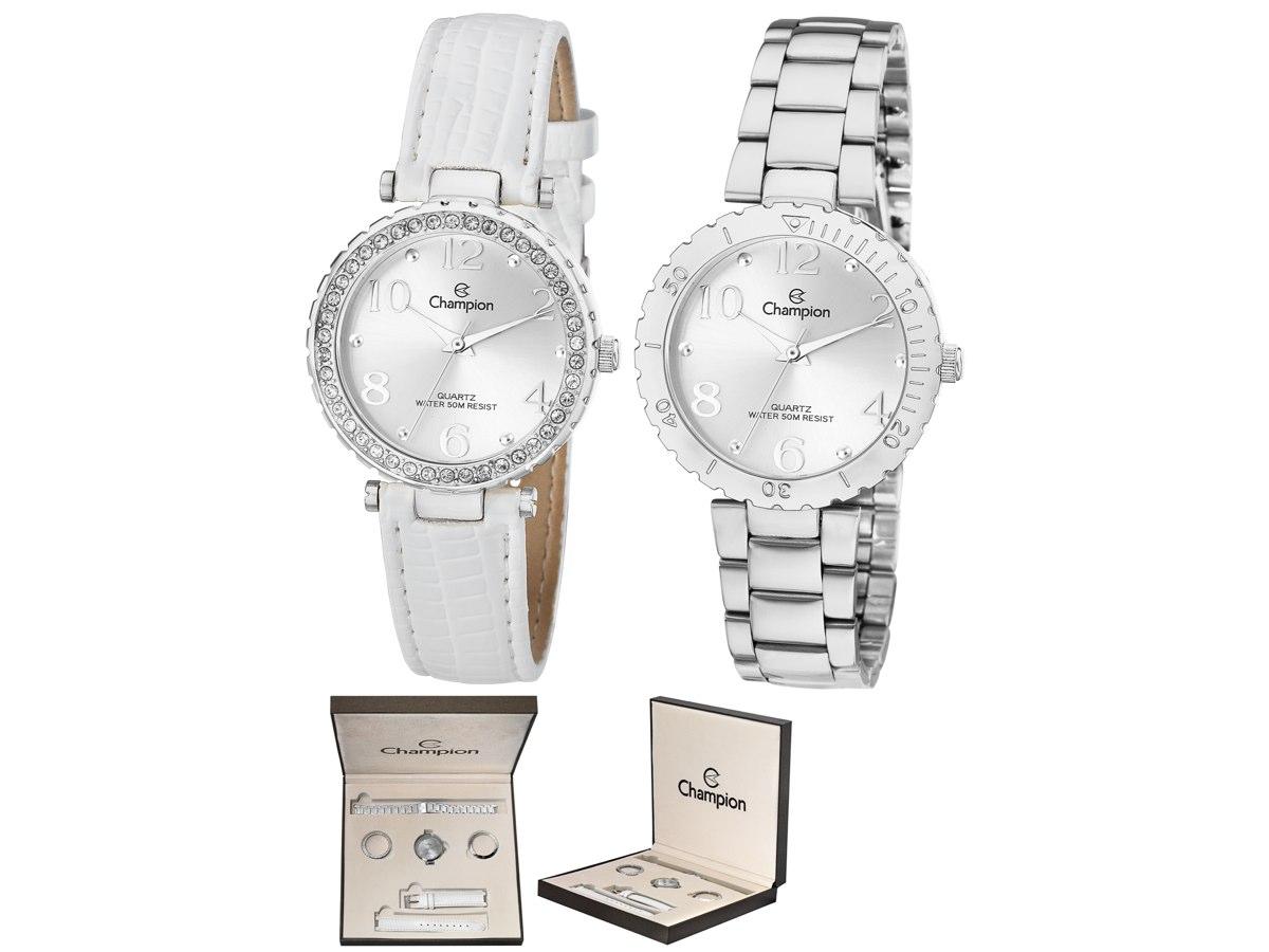 Relógio de Pulso KIT PRESENTES CN20104Q - Champion Relógios