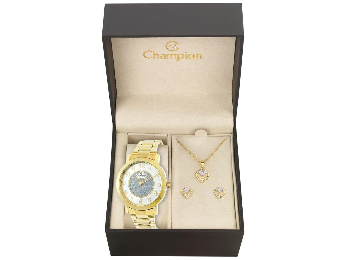 Relógio de Pulso KIT PRESENTES CN26466W - Champion Relógios