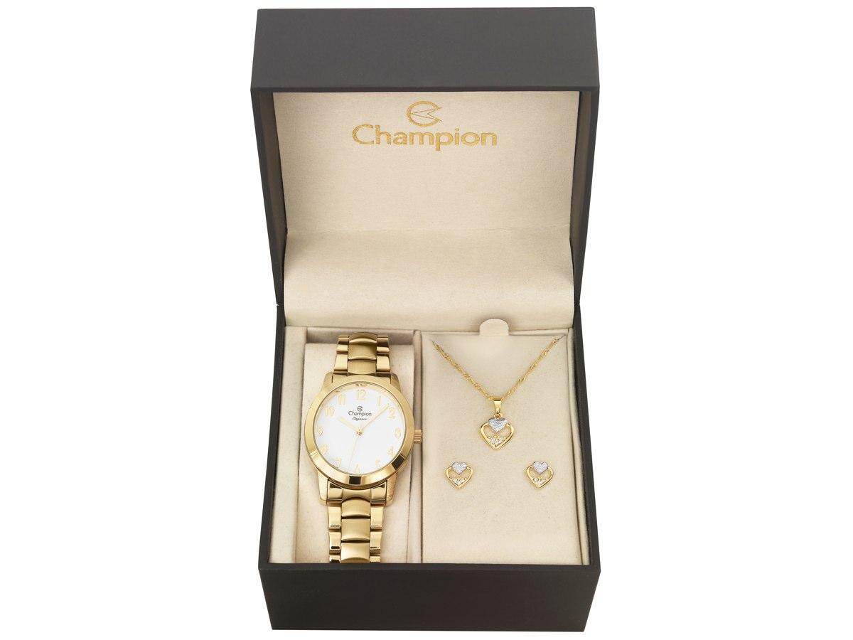 Relógio de Pulso KIT PRESENTES CN26519W - Champion Relógios