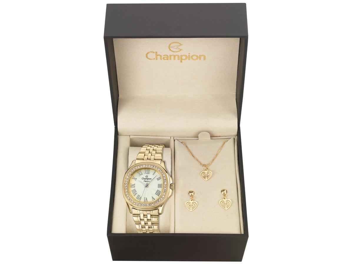 Relógio de Pulso KIT PRESENTES CN27330K - Champion Relógios