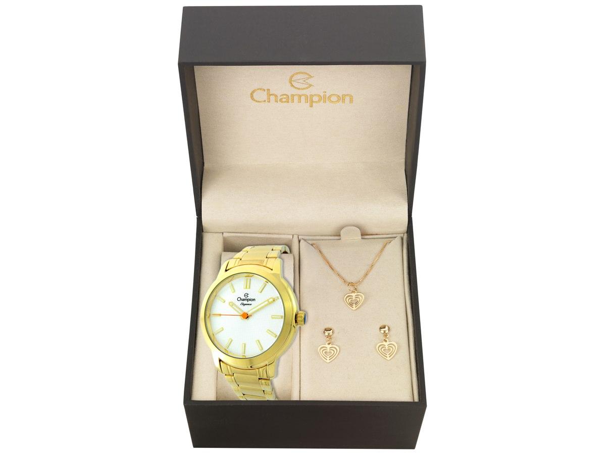 Relógio de Pulso KIT PRESENTES CN27545W - Champion Relógios