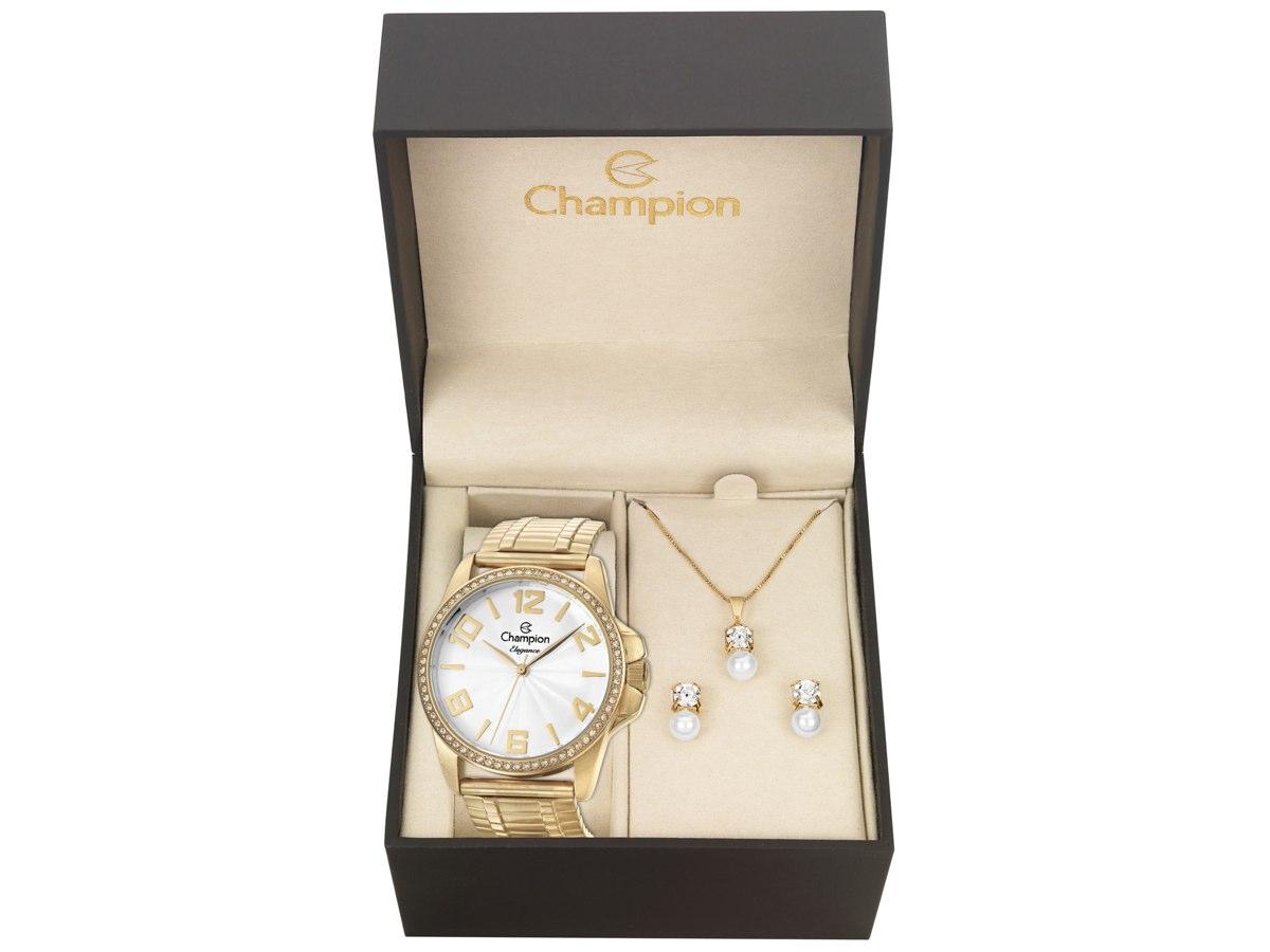 Relógio de Pulso KIT PRESENTES CN27821W - Champion Relógios