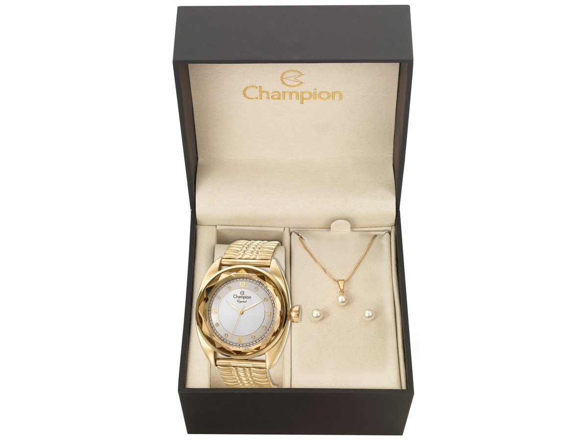 Relógio de Pulso KIT PRESENTES CN27858W - Champion Relógios