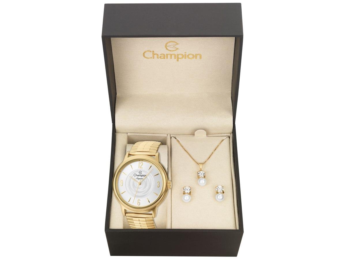 Relógio de Pulso KIT PRESENTES CN27867W - Champion Relógios