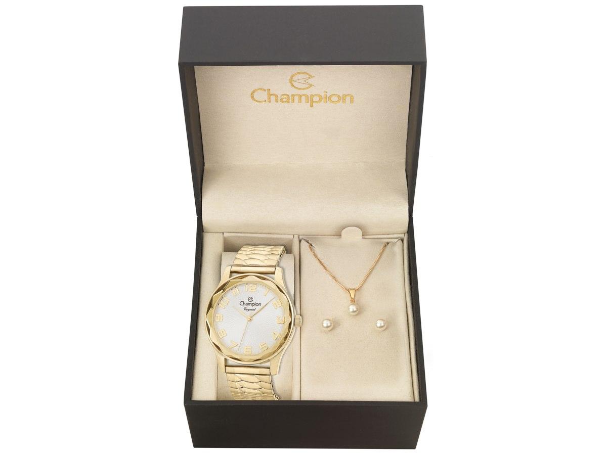 Relógio de Pulso KIT PRESENTES CN27885W - Champion Relógios