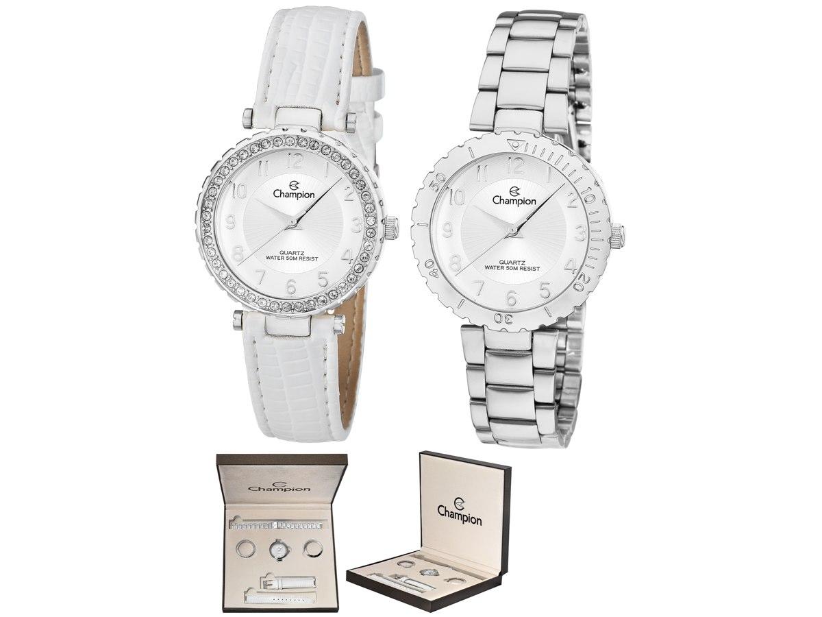 Relógio de Pulso KIT PRESENTES CN28759Q - Champion Relógios