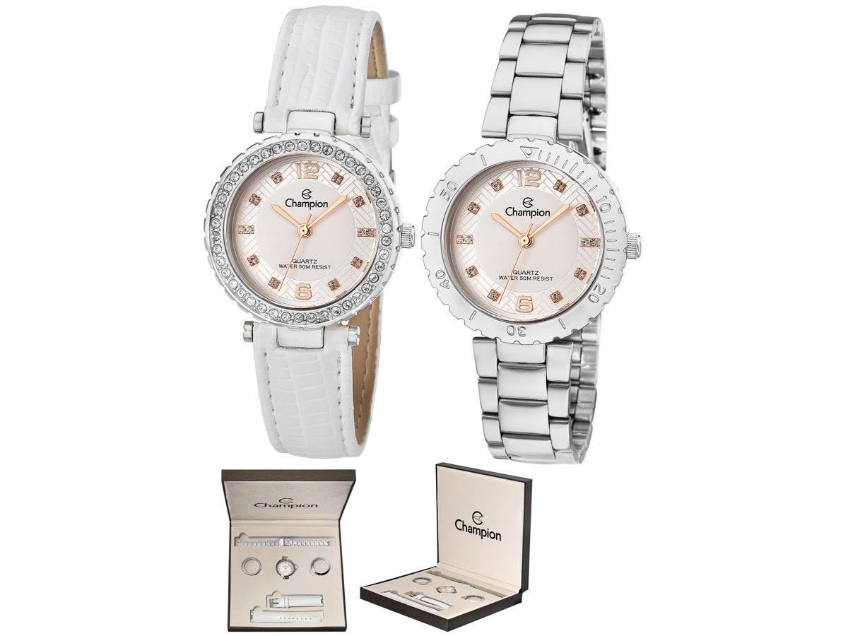 Relógio de Pulso KIT PRESENTES CN29203Q - Champion Relógios