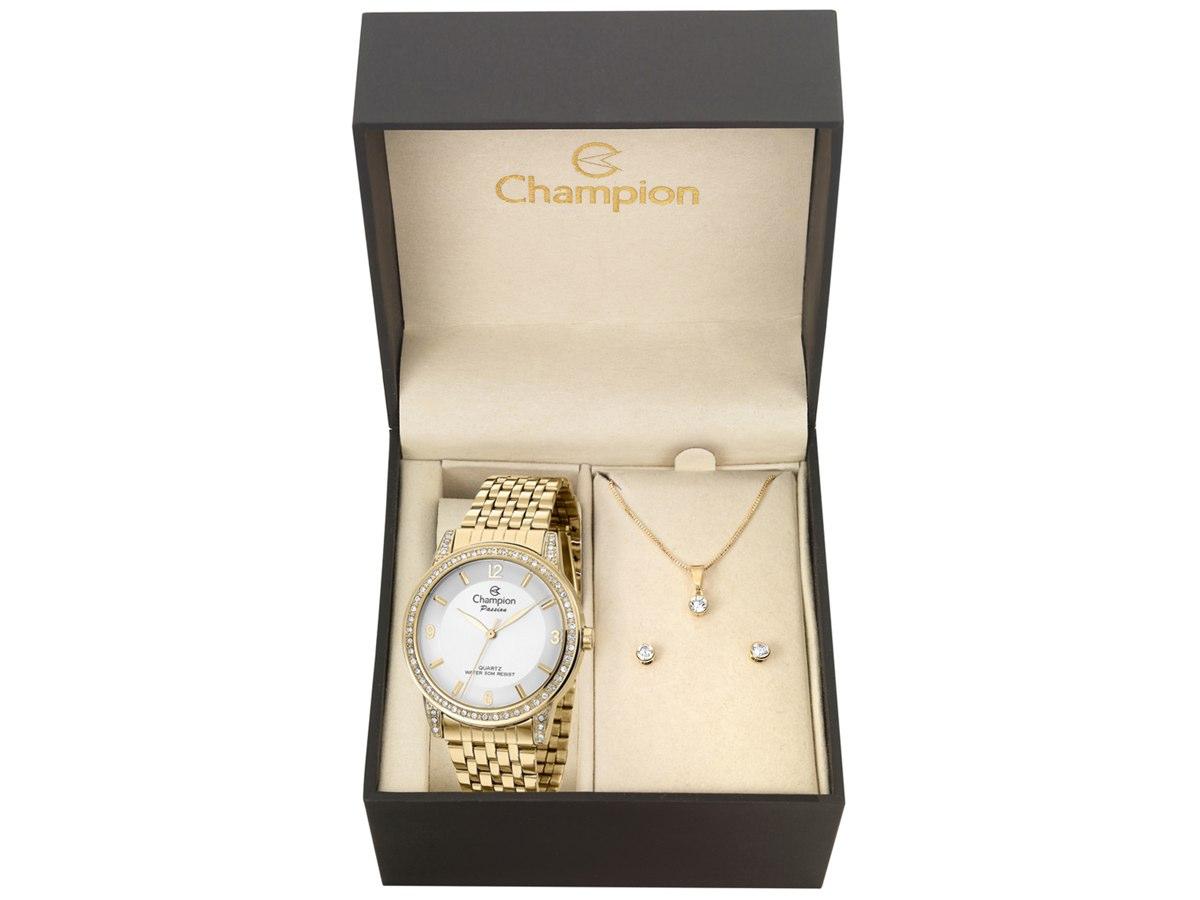 Relógio de Pulso KIT PRESENTES CN29374W - Champion Relógios