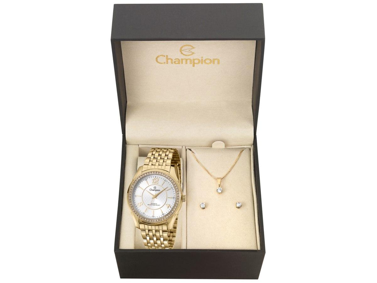 Relógio de Pulso KIT PRESENTES CN29632W - Champion Relógios
