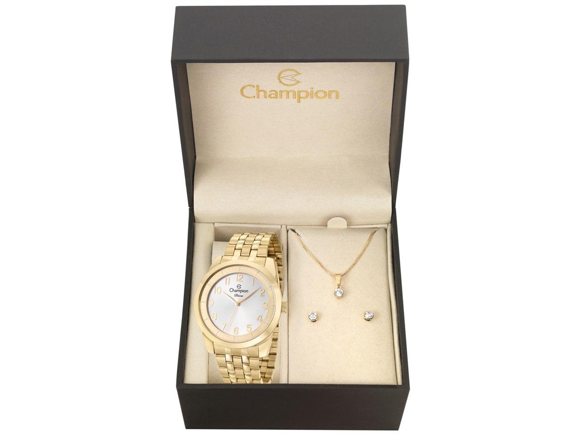 Relógio de Pulso KIT PRESENTES CN29749W - Champion Relógios