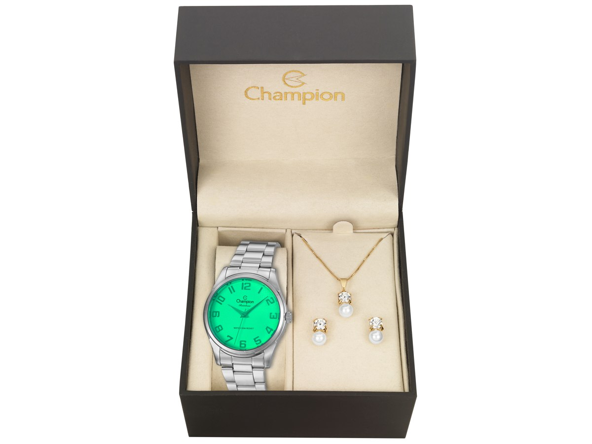 Relógio de Pulso KIT PRESENTES CN29883M - Champion Relógios