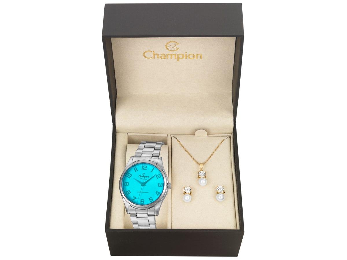 Relógio de Pulso KIT PRESENTES CN29883N - Champion Relógios