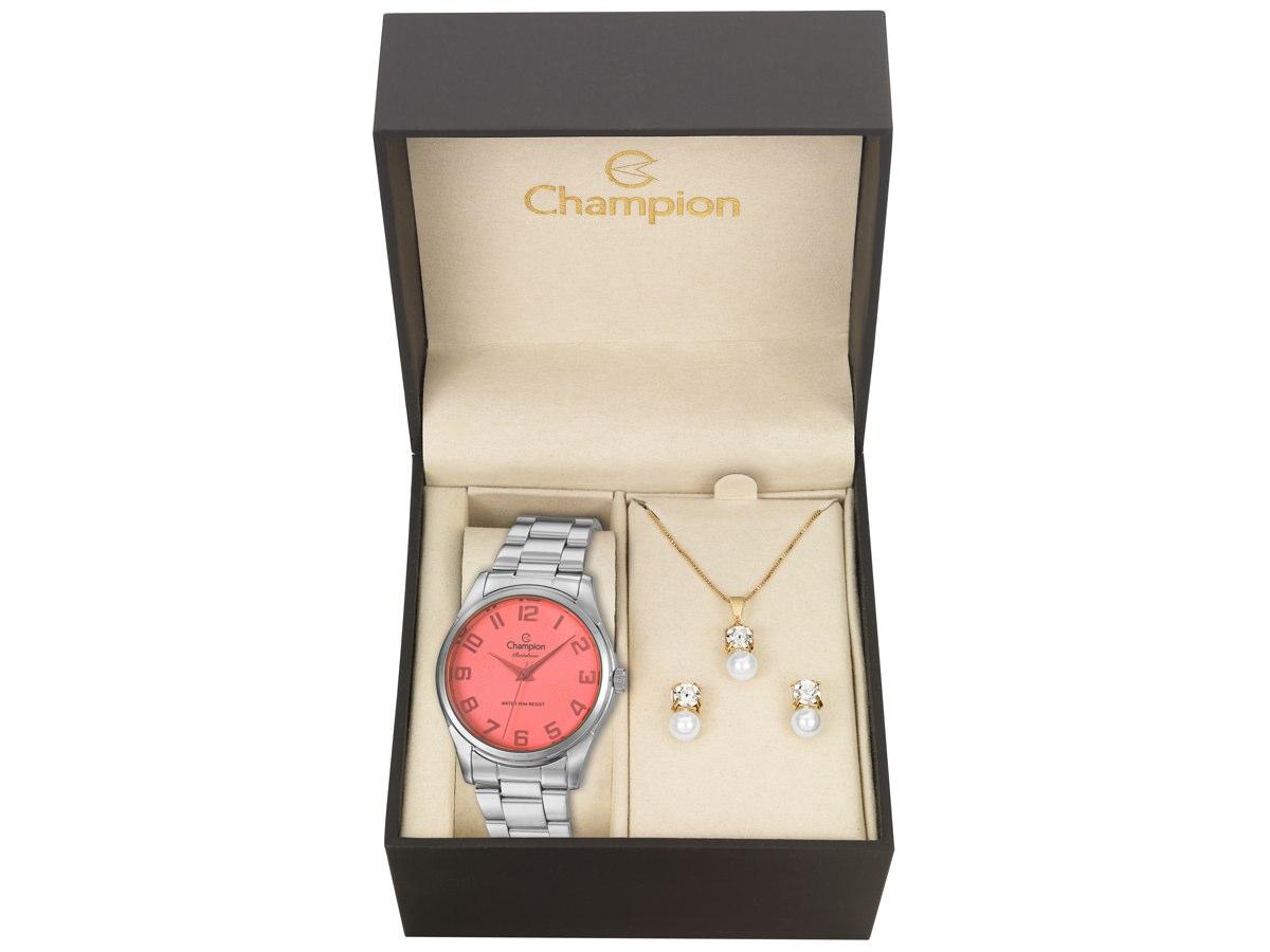 Relógio de Pulso KIT PRESENTES CN29883S - Champion Relógios