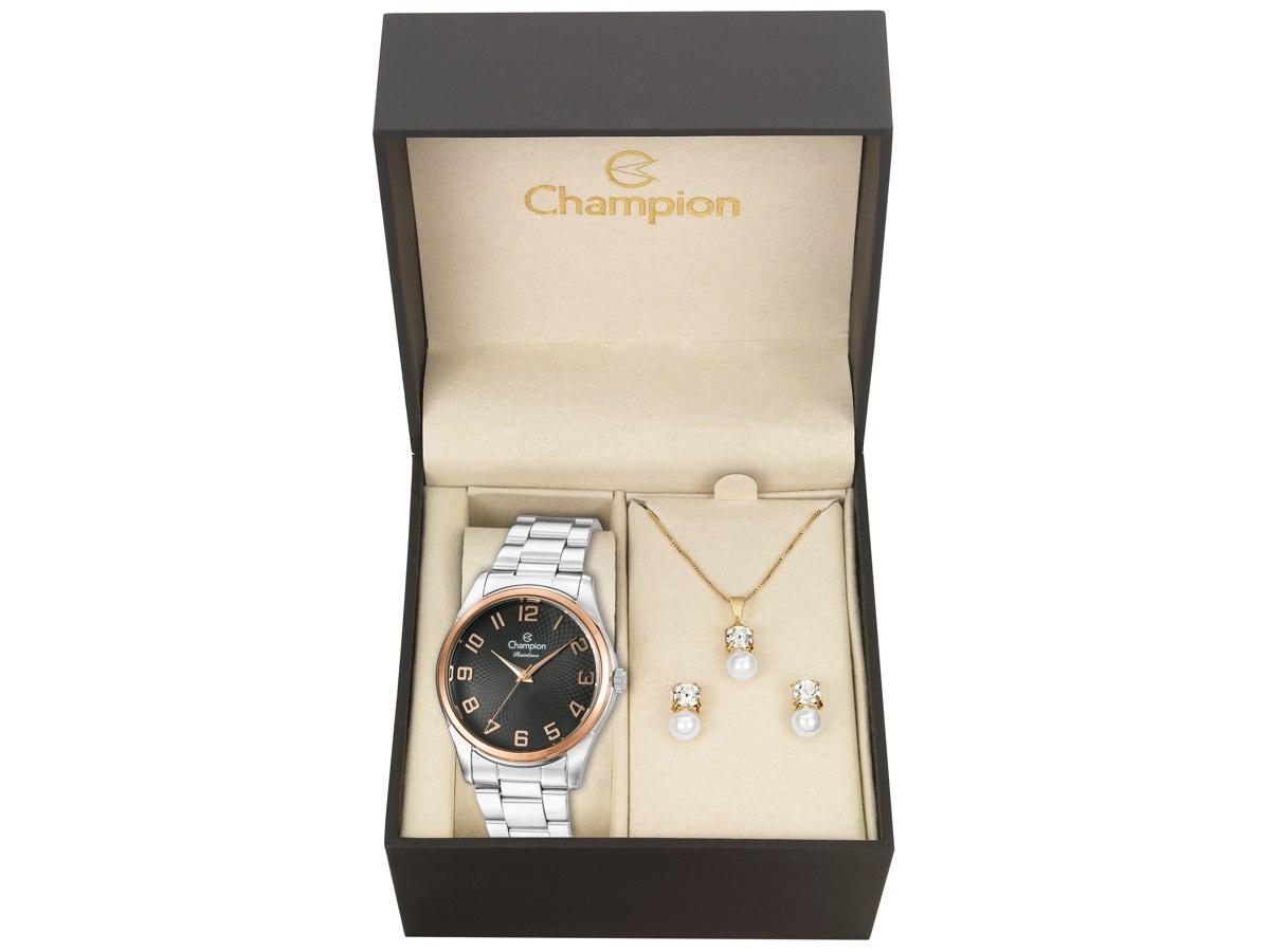Relógio de Pulso KIT PRESENTES CN29883T - Champion Relógios