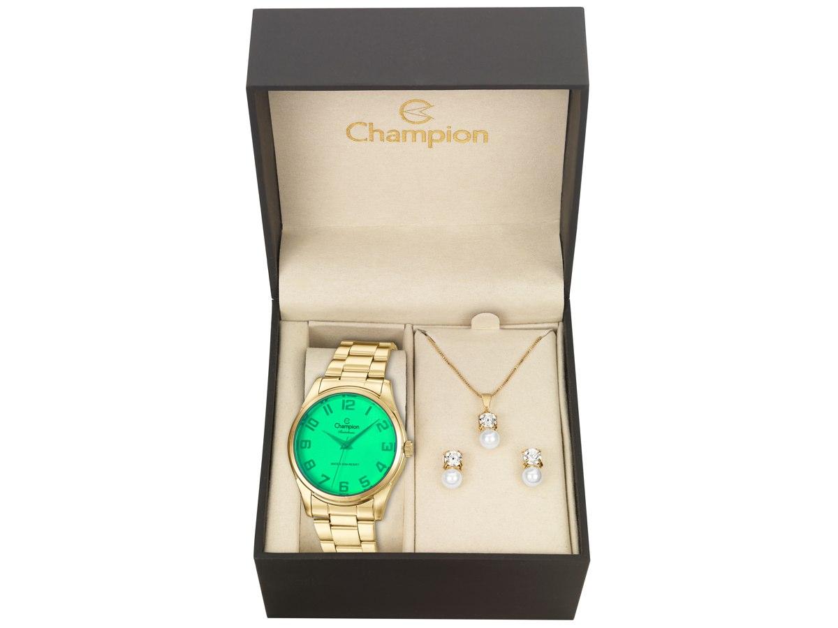 Relógio de Pulso KIT PRESENTES CN29883U - Champion Relógios
