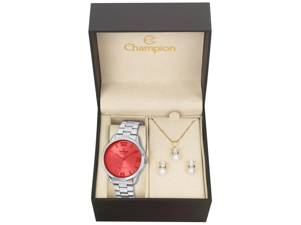 Relógio de Pulso KIT PRESENTES CN29892P - Champion Relógios