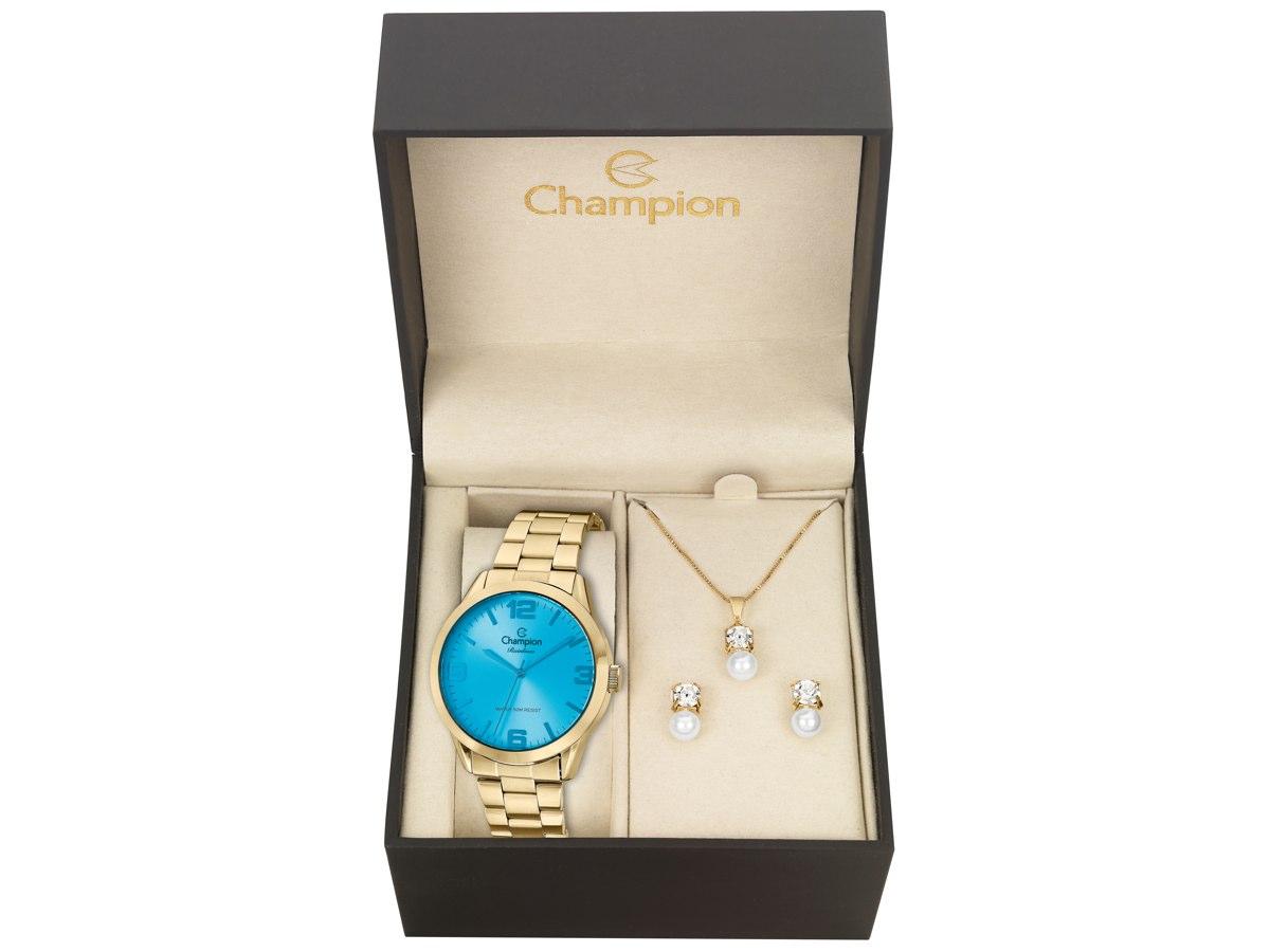 Relógio de Pulso KIT PRESENTES CN29892T - Champion Relógios