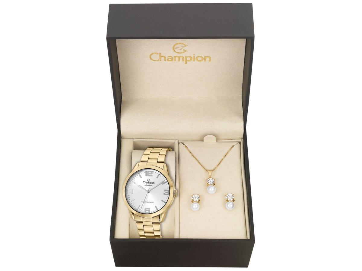 Relógio de Pulso KIT PRESENTES CN29892Z - Champion Relógios