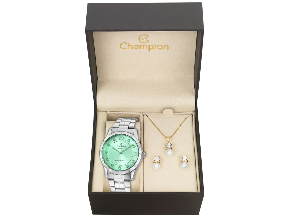 Relógio de Pulso KIT PRESENTES CN29909M - Champion Relógios