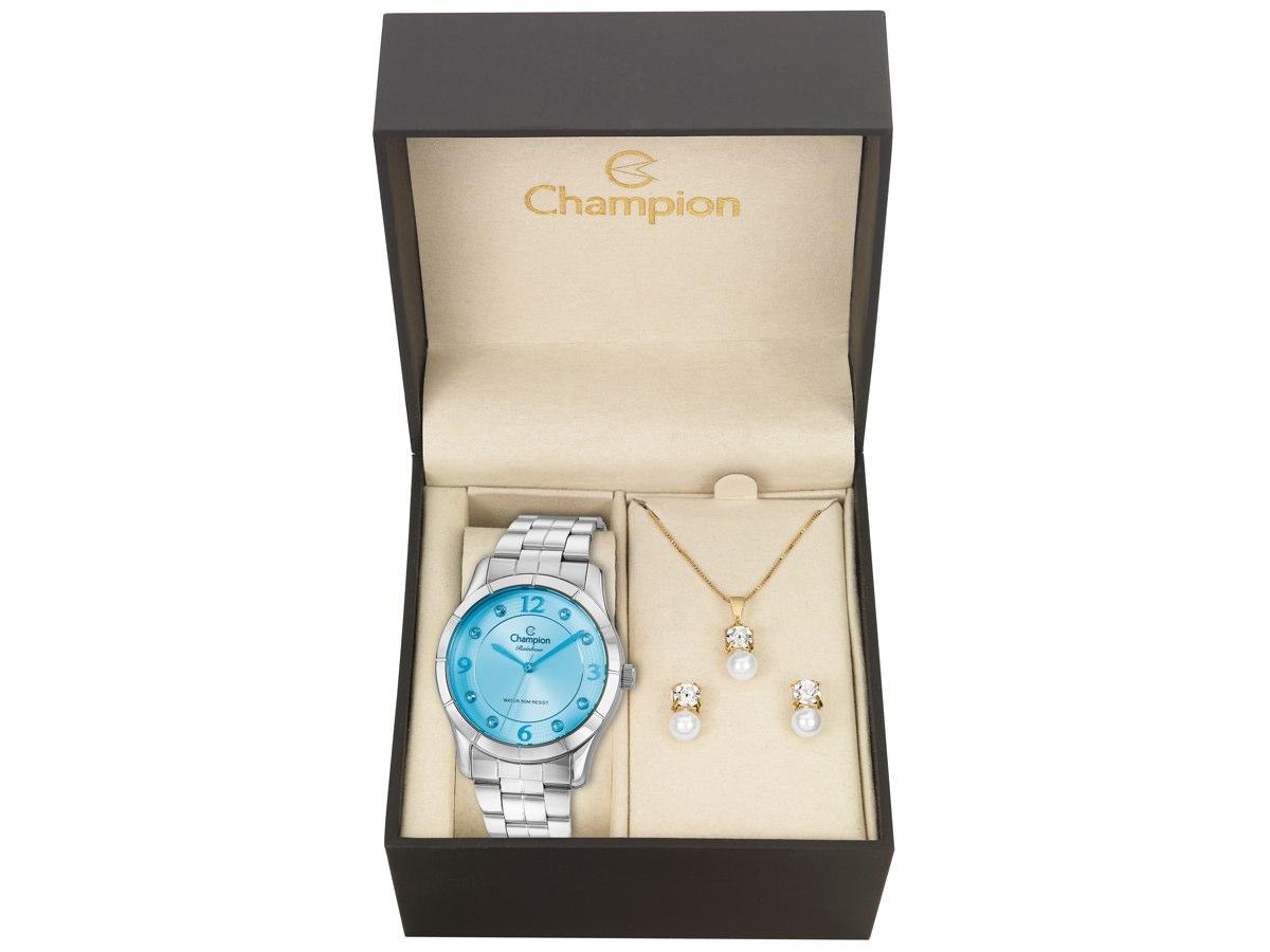 Relógio de Pulso KIT PRESENTES CN29909P - Champion Relógios