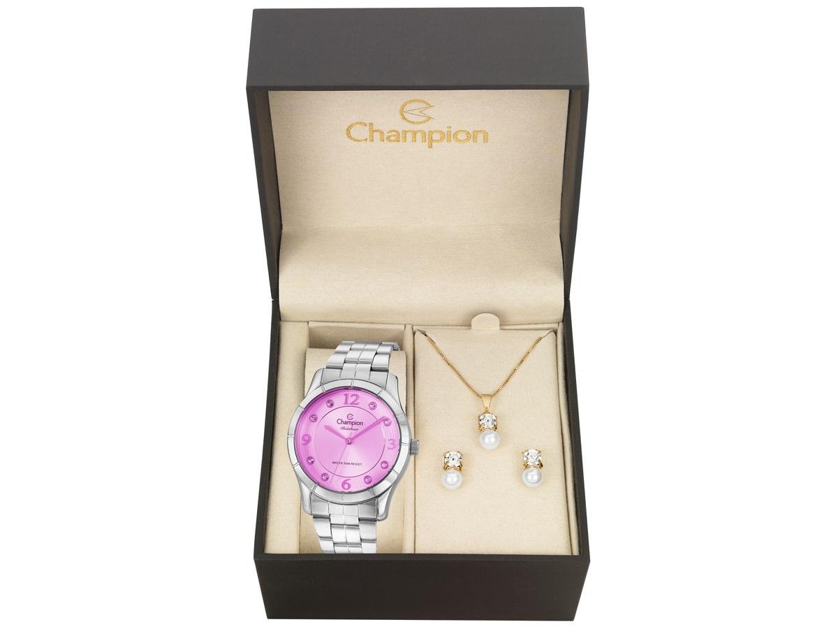 Relógio de Pulso KIT PRESENTES CN29909R - Champion Relógios