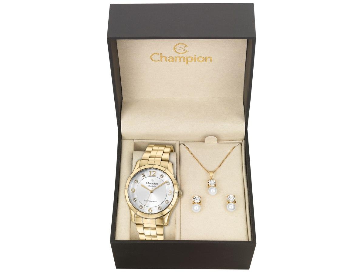 Relógio de Pulso KIT PRESENTES CN29909W - Champion Relógios