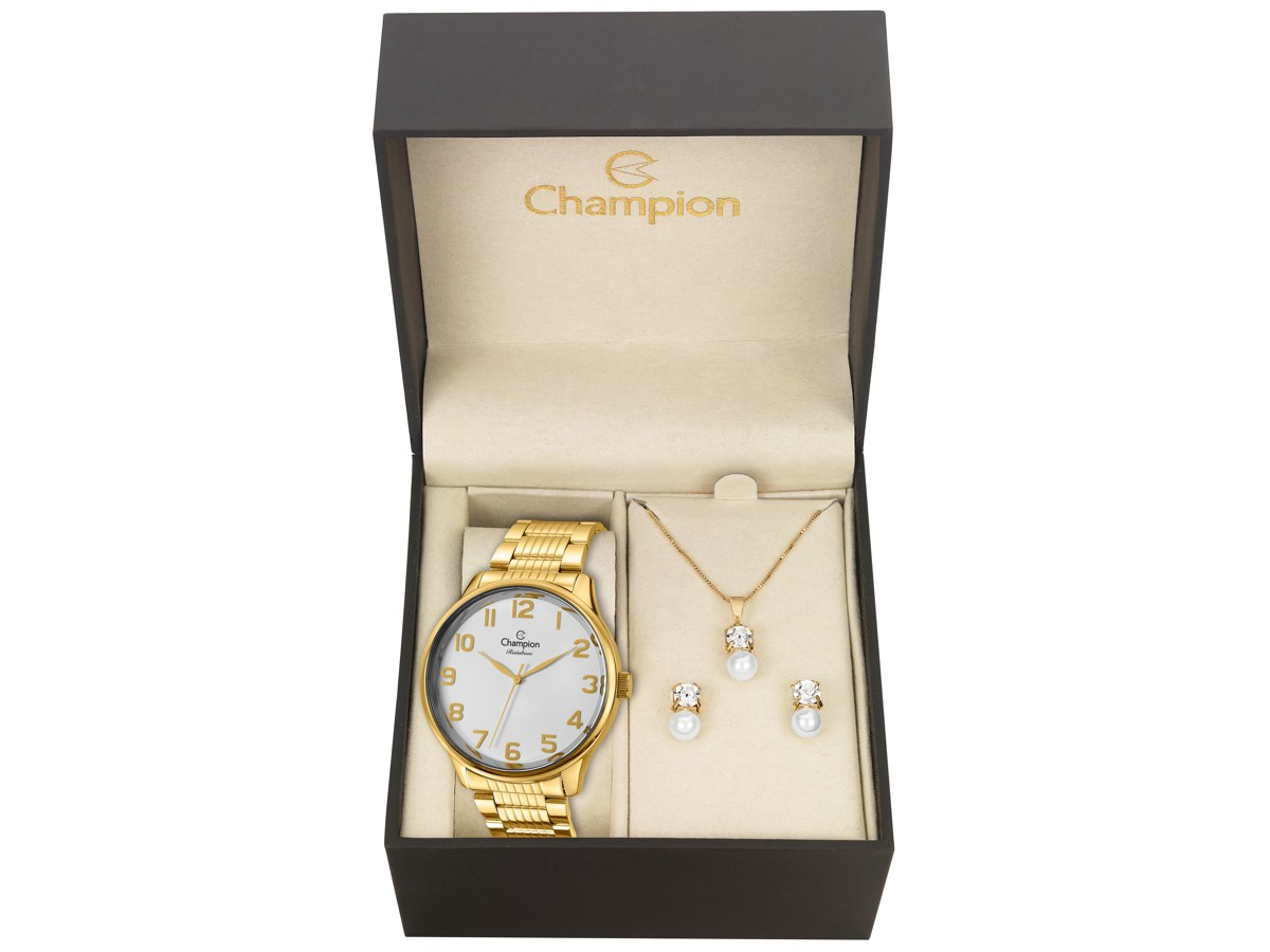 Relógio de Pulso KIT PRESENTES CN29918M - Champion Relógios