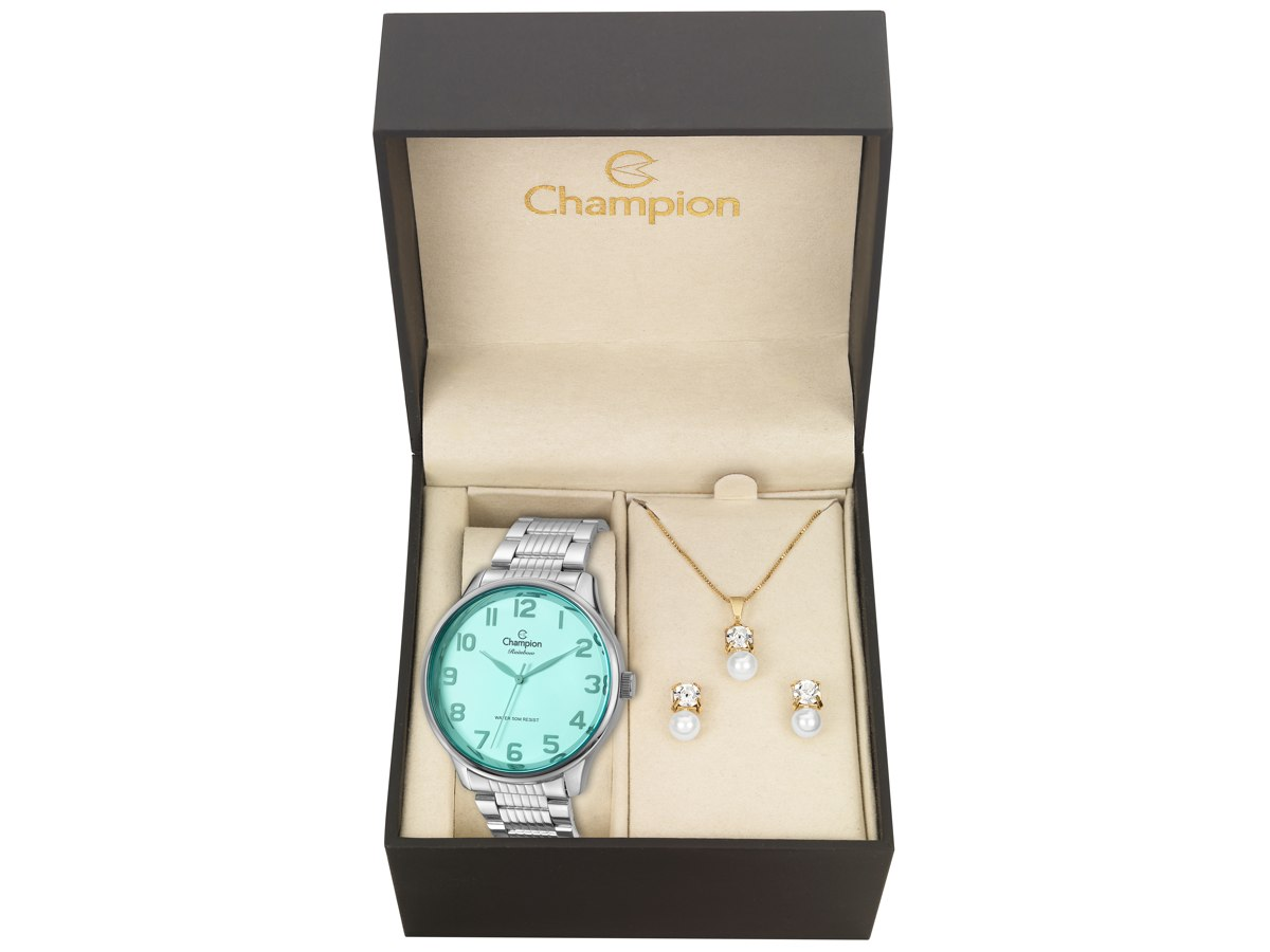 Relógio de Pulso KIT PRESENTES CN29918N - Champion Relógios