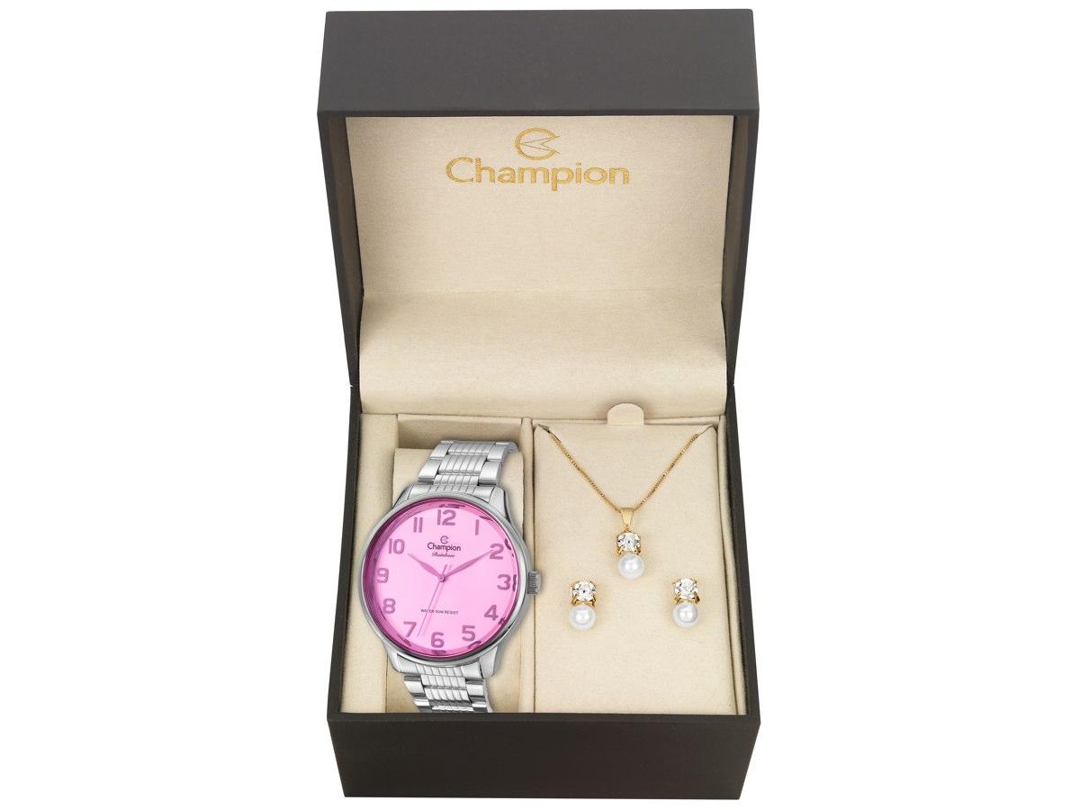 Relógio de Pulso KIT PRESENTES CN29918O - Champion Relógios