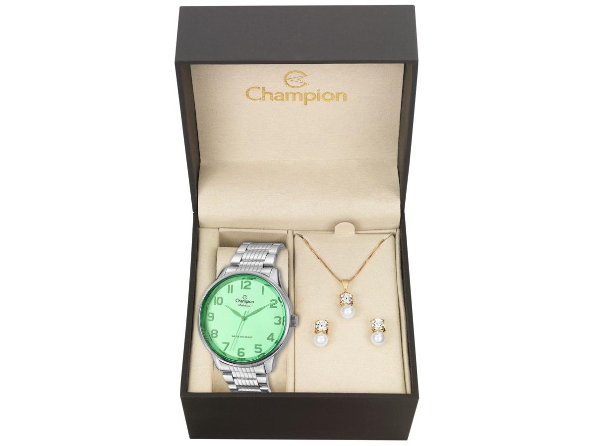 Relógio de Pulso KIT PRESENTES CN29918P - Champion Relógios