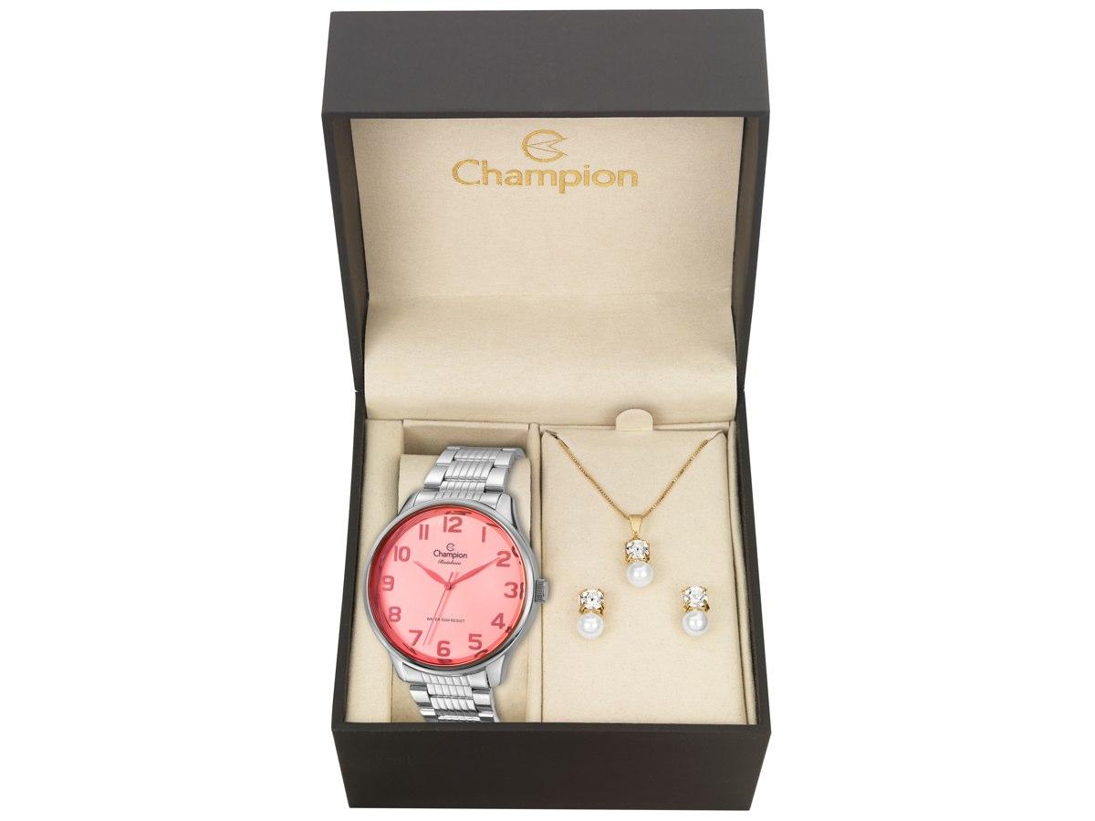 Relógio de Pulso KIT PRESENTES CN29918R - Champion Relógios