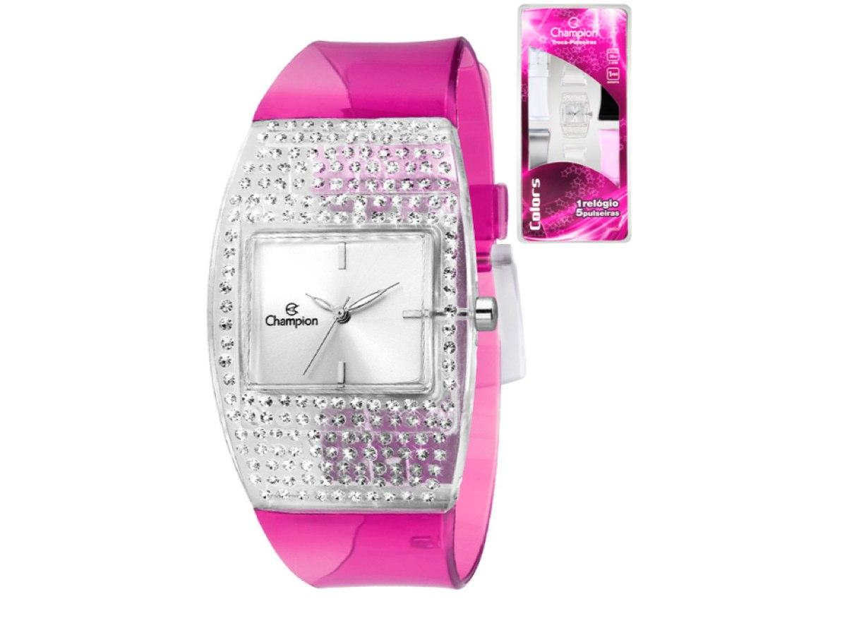 Relógio de Pulso TROCA-PULSEIRAS CP28257M - Champion Relógios