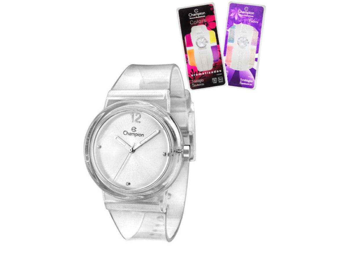 Relógio de Pulso TROCA-PULSEIRAS CP28266S - Champion Relógios