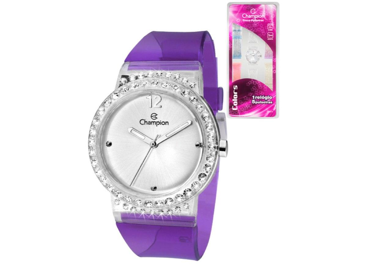 Relógio de Pulso TROCA-PULSEIRAS CP28275S - Champion Relógios