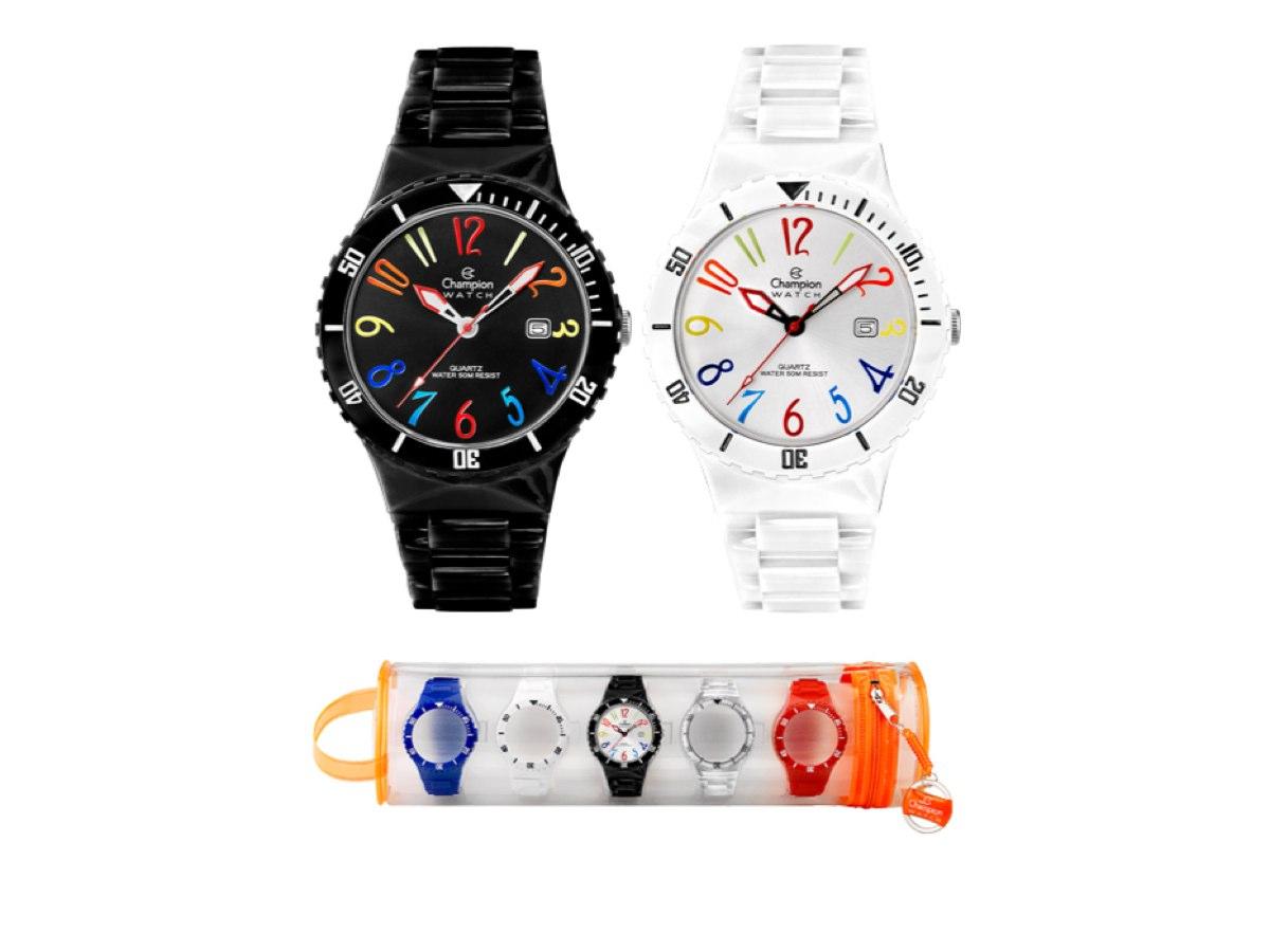 Relógio de Pulso TROCA-PULSEIRAS CP30119M - Champion Relógios