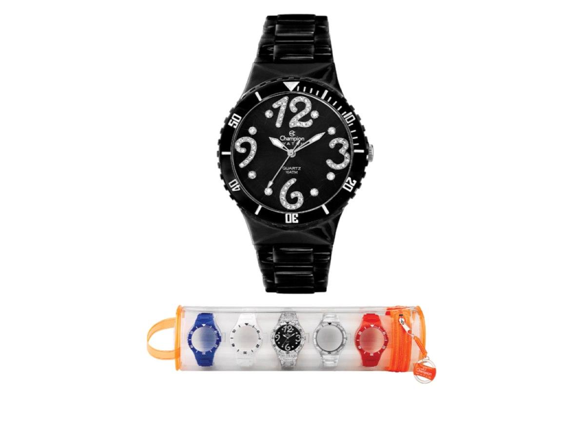 Relógio de Pulso TROCA-PULSEIRAS CP30182D - Champion Relógios