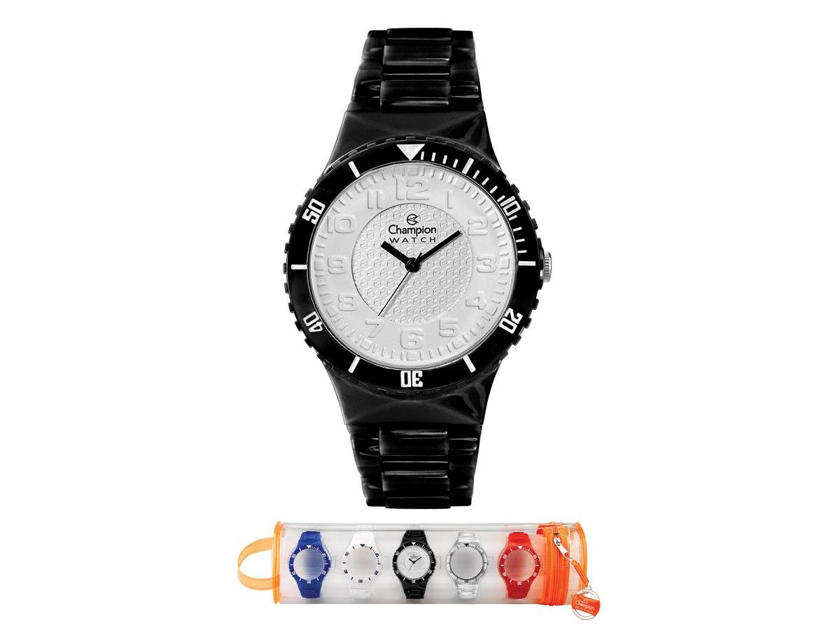 Relógio de Pulso TROCA-PULSEIRAS CP30182L - Champion Relógios