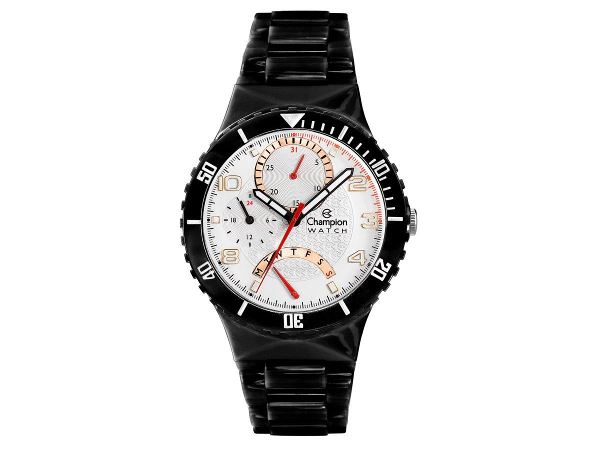 Relógio de Pulso TROCA-PULSEIRAS CP30208B - Champion Relógios
