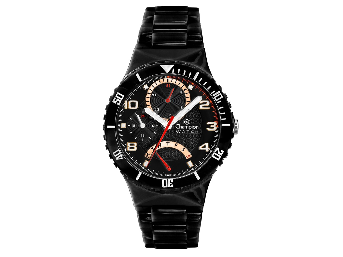 Relógio de Pulso TROCA-PULSEIRAS CP30208P - Champion Relógios