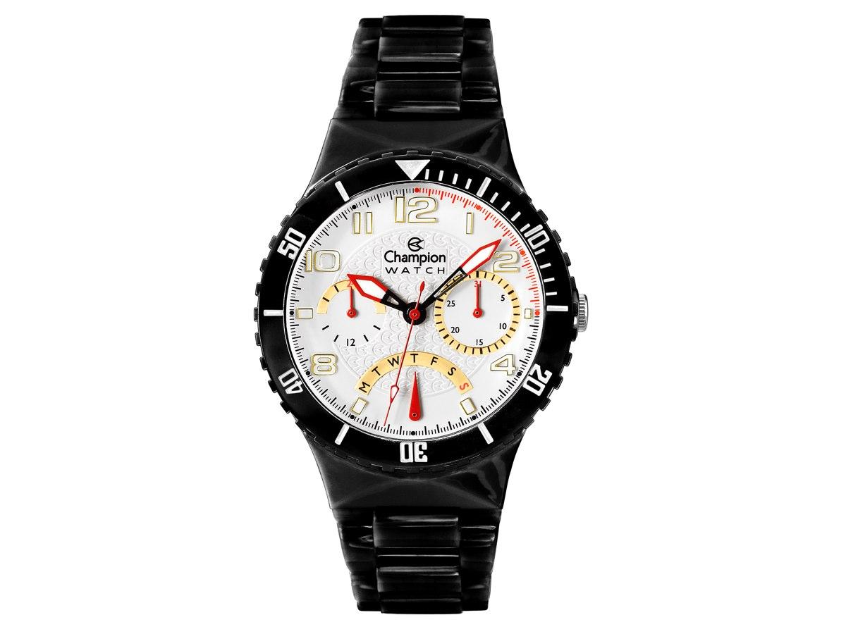 Relógio de Pulso TROCA-PULSEIRAS CP30217B - Champion Relógios