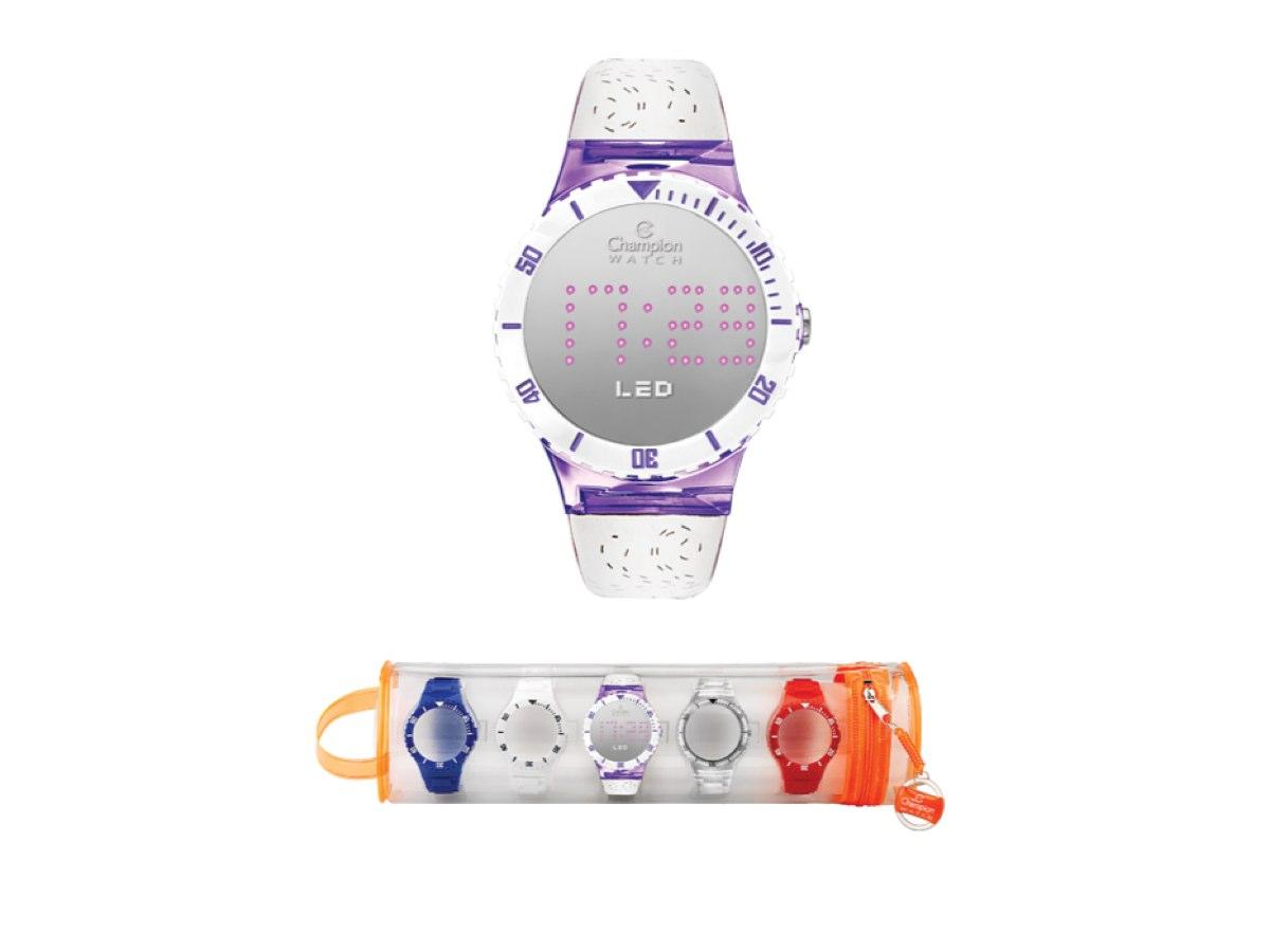 Relógio de Pulso TROCA-PULSEIRAS CP40162X - Champion Relógios