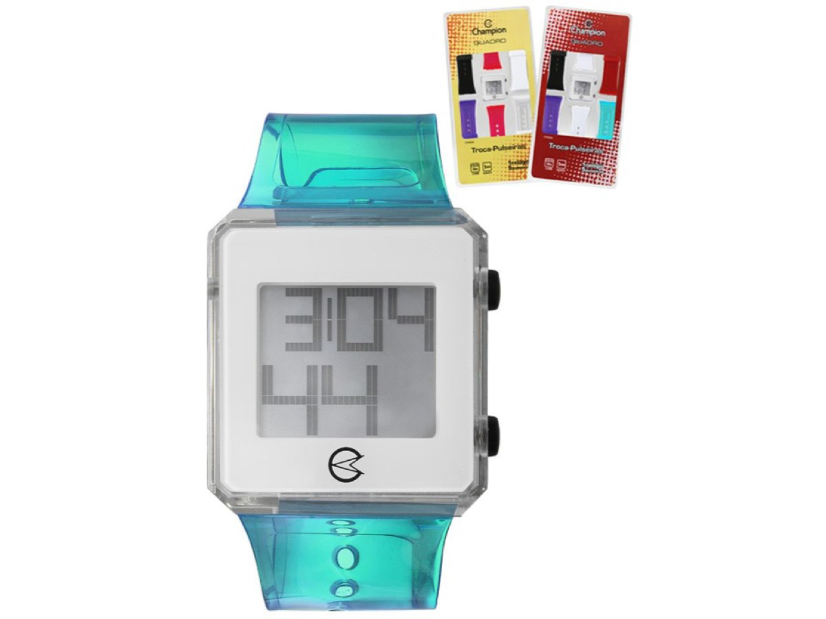 Relógio de Pulso TROCA-PULSEIRAS CP48066B - Champion Relógios