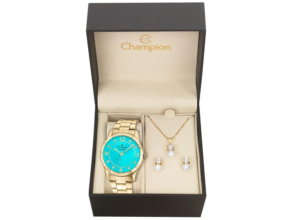 Relógio de Pulso KIT PRESENTES CN29909Z - Champion Relógios
